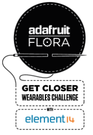 Element14 and Adafruit FLORA Challenge