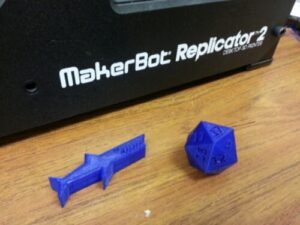 no-theory 3d printing with our printers class 2015-05-30
