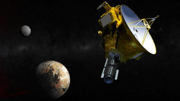 Pluto Fly By 2015-07-14