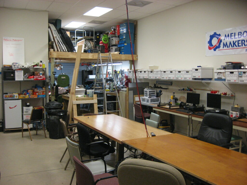 Melbourne Makerspace new Look