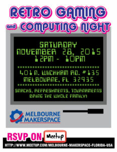 Retro Gaming and Computing Night