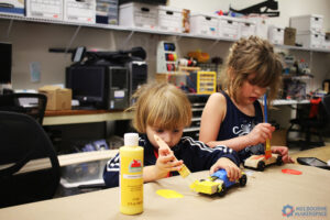 Building Pinewood Derby Cars!