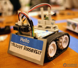 Sign up to build your own battle robot!