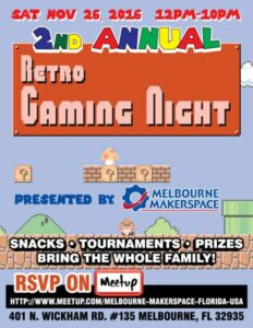 2nd Annual Retro Gaming Night