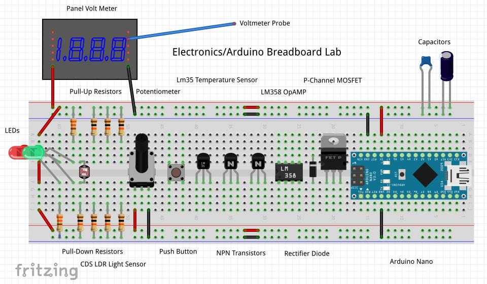 Electronics/Arduino Breadboard Lab