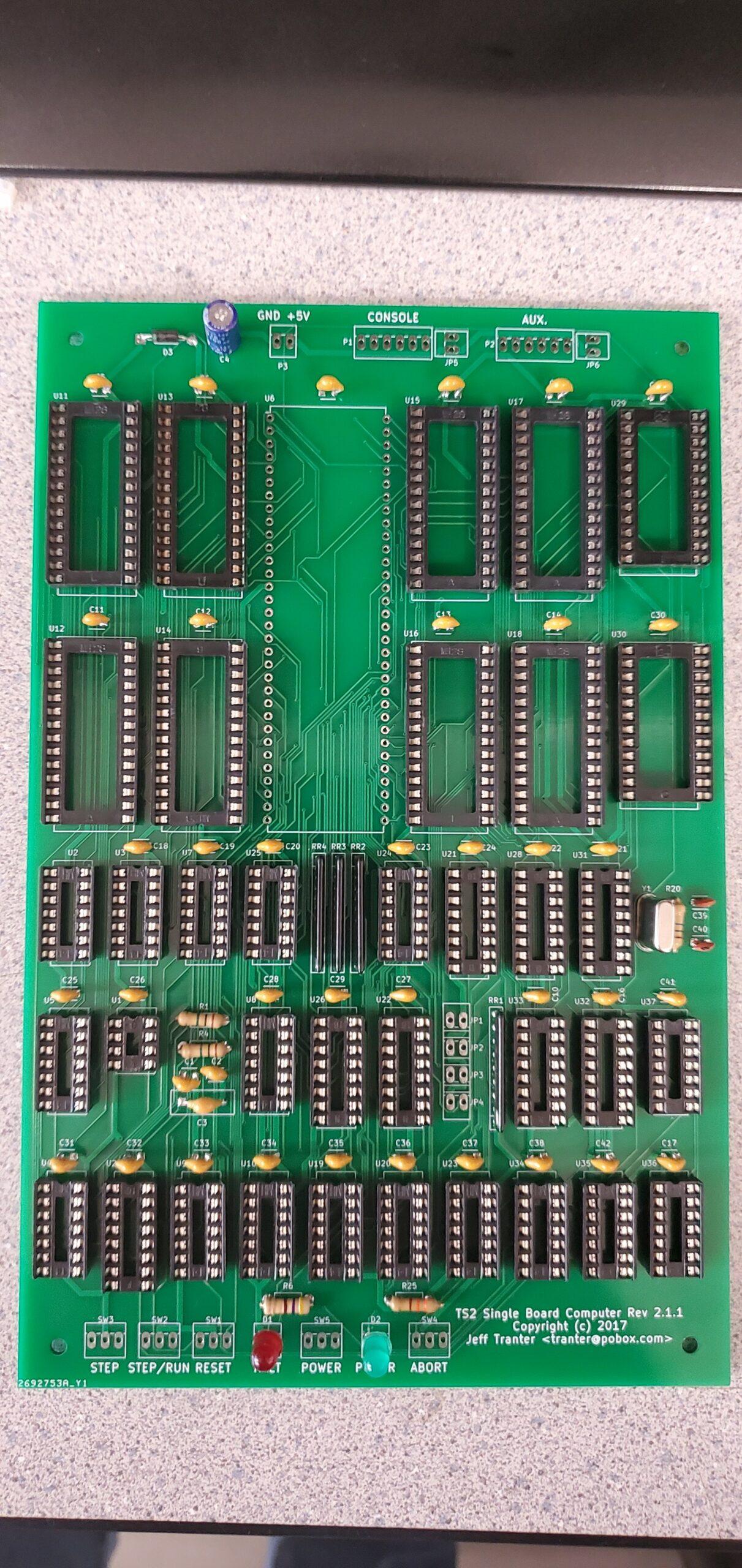 Scratch Built Motorola 68000 Computer Project