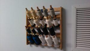 Custom Wooden Thread Spool Wall Hanger
